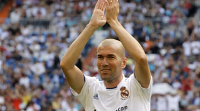 Real promotion for Zidane