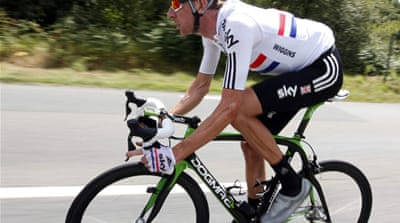 Wiggins crashes out of Tour de France