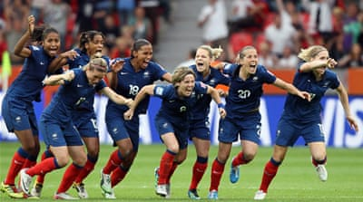 France beat England in tense shoot out