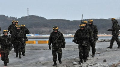 N Korean shells 'land near S Korea island'
