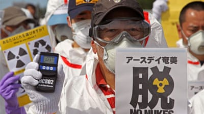 Citizen group tracks down Japan's radiation