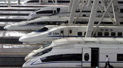Crash-weary China puts brakes on rail plans