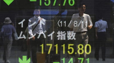 Asia stocks up after rocky week