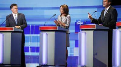 Republican hopefuls hit hard in first debate