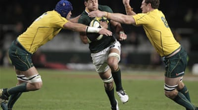 Springboks feel more Tri-Nations pain