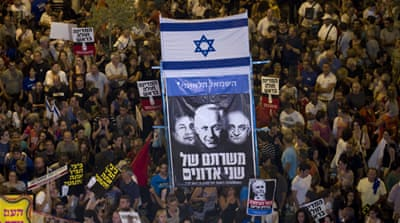 Israeli protesters call for economic reforms