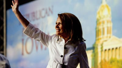 Bachmann wins Republican Iowa straw poll