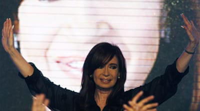 Kirchner wins Argentina presidential primary
