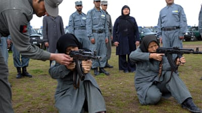 US firm slammed over Afghan police training