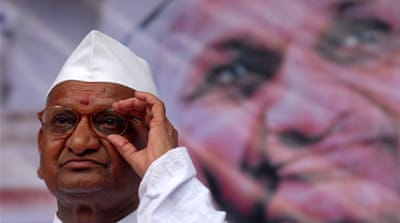 Profile: Indian activist Anna Hazare