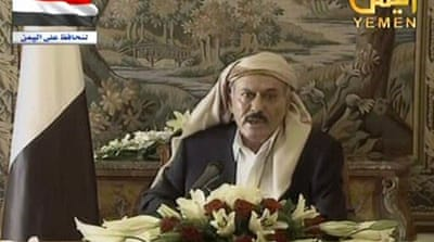 Saleh: 'See you in Sanaa soon'
