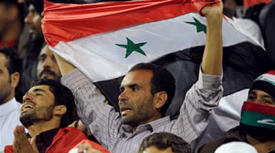 Syria disqualified from 2014 World Cup