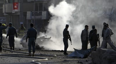 Deadly blasts rock Afghan capital