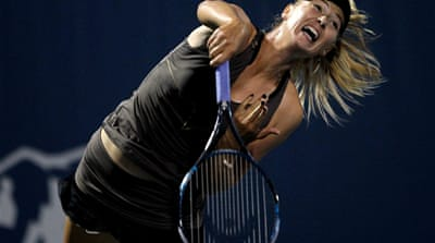 Maria Sharapova is top female earner