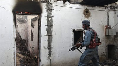 Taliban suicide bombers attack guest house