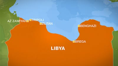 Tribal groups clash in Libya's Az Zawiyah