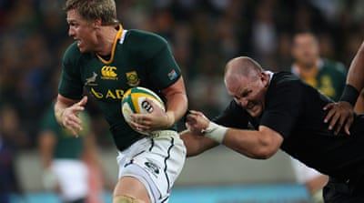 Springboks beat New Zealand in Tri-Nations