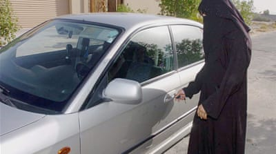 Saudi woman 'spared lashing' in driving case