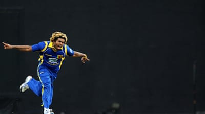 Malinga sets hat-trick record for Sri Lanka