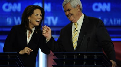 Media choice: Economics or Bachmann's outfit?