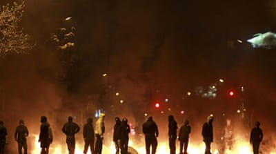 Chilean protesters clash with police