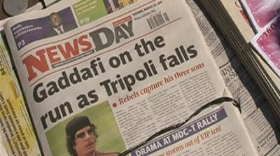 Could Gaddafi flee to Zimbabwe?