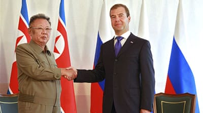 N Korea's Kim in Russia for nuclear talks