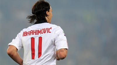 Ibrahimovic: Milan are still the favourites