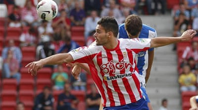 Sporting Gijon kick-off Spanish season