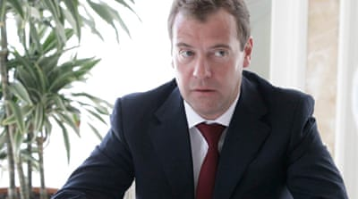 Medvedev sets date for Russian vote
