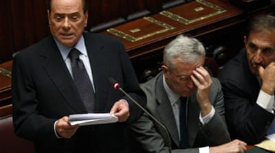 Italy enters financial crisis talks