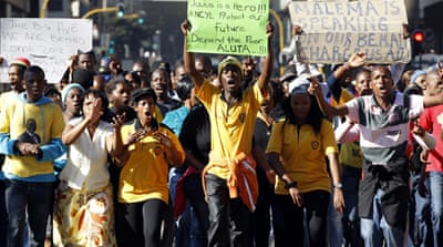 Supporters of ANC leader riot in South Africa