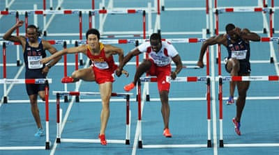 Robles stripped of gold in hurdles final