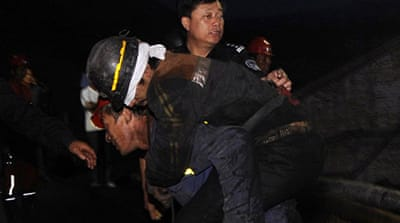 China miners rescued after week-long ordeal