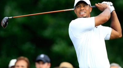 Woods wobbles at Bridgestone Invitational