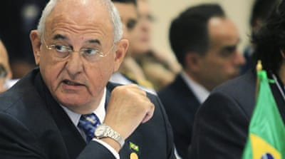 Brazilian defence minister resigns