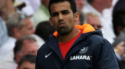 Zaheer out of England tour