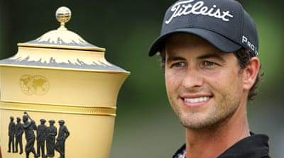 Scott wins Bridgestone Invitational