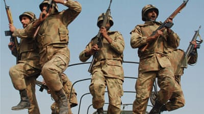 Pakistan's military operations in Kashmir