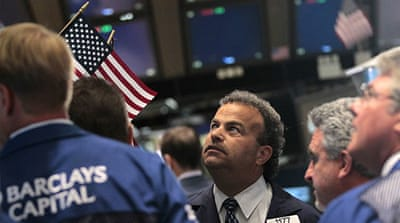 Global markets rise amid volatile trading