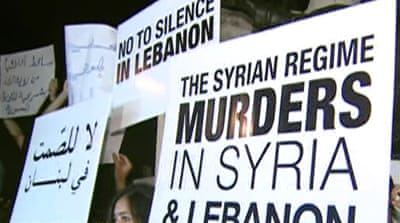 Syrian activists' dangerous haven in Lebanon