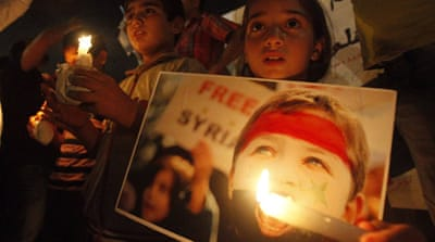 Syria solidarity rally held in Beirut
