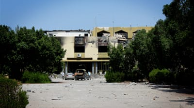 In Pictures: Gaddafi's intelligence compound
