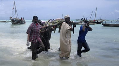 Scores drowned in Zanzibar ferry sinking