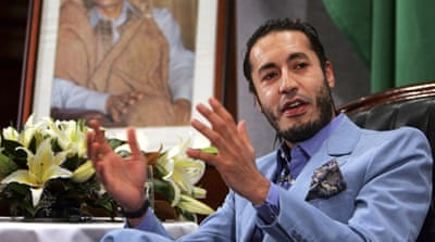 Gaddafi's son 'flees to Niger'