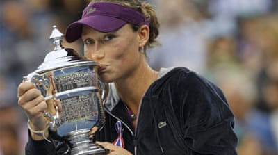 Sam Stosur dominates US Open final