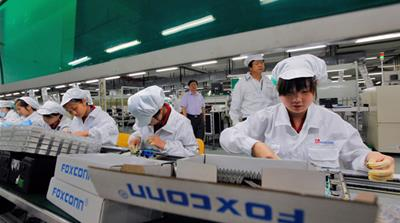 Apple has come under fire for problematic labour practices in Chinese assembly factories [EPA]