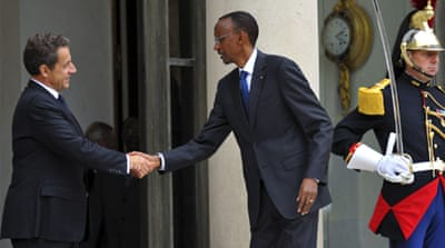Rwanda's Kagame in France to ease relations