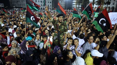 Libya's new leader calls for civil state