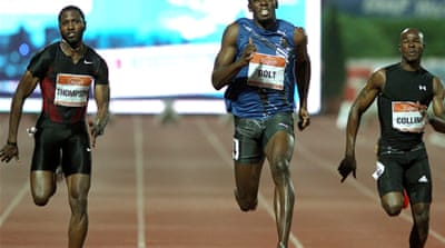 Bolt clocks season best in Zagreb